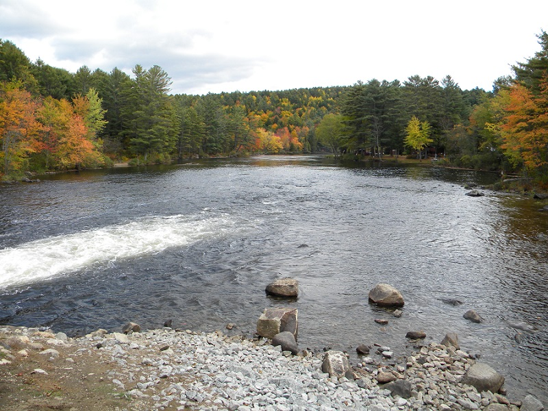 Middle Schroon river float.
