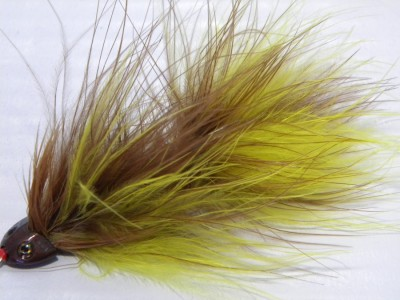 Sculpin Helmet  Articulated Buggar - Brown yellow