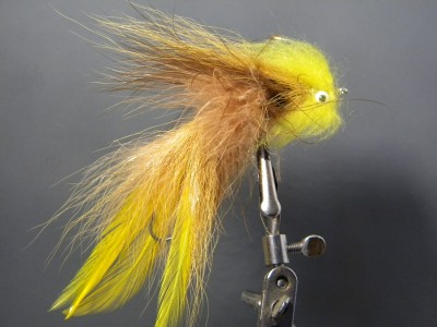 Split tail Deceiver Tan - Articulated