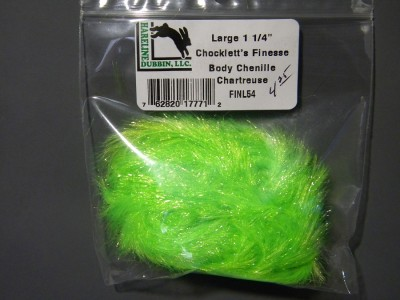 Chocklett's Finesse Body chenille - Chartreuse